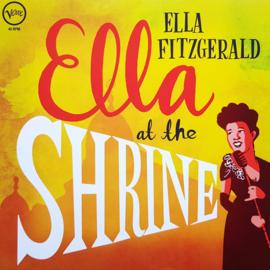 Ella Fitzgerald - Ella at the shrine | LP -coloured vinyl-