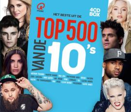 Various - Q-music top 500 van de 10's  | 4CD