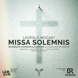 Leopold Mozart - Missa solemnis -Bayerische Kammerphilharmonie- | CD