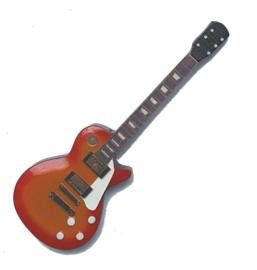 Gitaarminiatuur met magneet Les Paul Jimmy Page (Led Zeppelin)