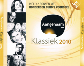 Various - Aangenaam klassiek 2010 - 2CD + DVD