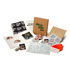 Paul McCartney & Wings - Wild life |  3CD+DVD superdeluxe boxset