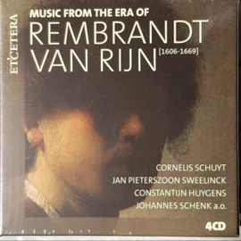 Various - Music from the era of Rembrandt van Rijn | 4CD