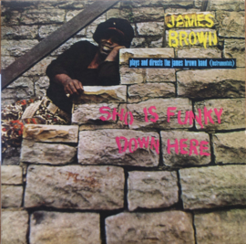 James Brown Plays And Directs The James Brown Band ‎– Sho Is Funky Down Here | LP