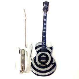 Gitaarspeld Les Paul 'Bullseye' (Zakk Wylde, Black label society)