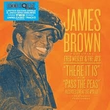 "James Brown  - There It Is (Live) / Pass The Peas (Live)    7"" single"