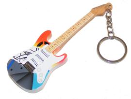 Sleutelhanger  Eric Clapton -Stratocaster crash 3-