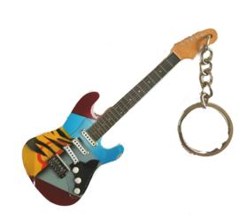 Sleutelhanger  Eric Clapton -Stratocaster-