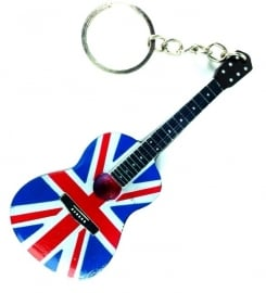 Sleutelhanger  Acoustic  UK Flag