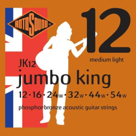 Rotosound Jumbo King JK12 Acoustic Phosphor Bronze Medium Light