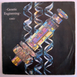 "OMD - Genetic engineering | 2e hands 7"" vinyl single"