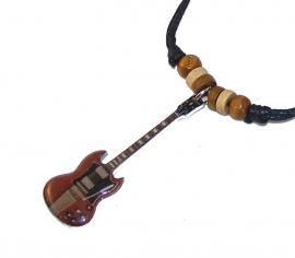 Halsketting gitaar