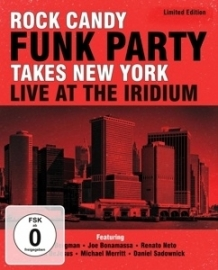 Rock Candy Funk Party - Takes New York | 2CD + DVD
