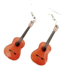 Oorbellen akoestische /Spaanse gitaar