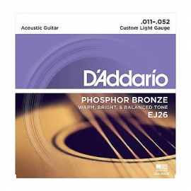 D'Addario Acoustic - Phosphor Bronze Custum Light Gauge
