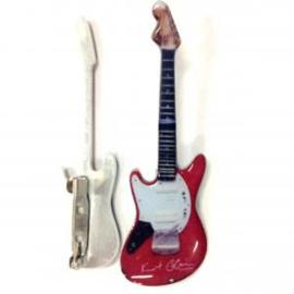 Gitaarspeld Fender Jagstang red ( Kurt Cobain, Nirvana)