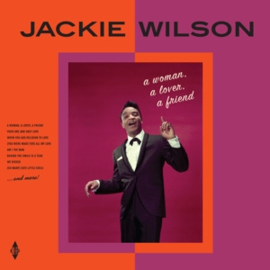 Jackie Wilson - A Woman, a Lover, a Friend  | LP