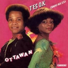"Ottawan - T`Es O.K. - 2e hands 7"" vinyl single-"