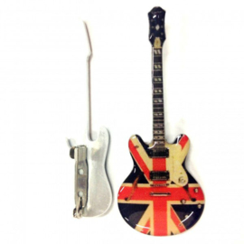 Gitaarspeld  Epiphone UK Flag (Noël Gallagher, Oasis)