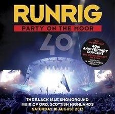 Runrig - 40th anniversary concert live  | 3CD