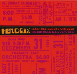 Jimi Hendrix - Songs For Groovy Children: the Fillmore East Concerts | 5CD