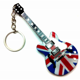 Sleutelhanger  Epiphone UK Flag (Noel Gallagher)