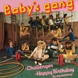 "Baby`s gang - Challenger   - 2e hands 7"" vinyl single-"