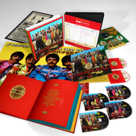 Beatles - Sgt. Pepper's lonely heartclub band | 4CD/DVD/BLU-RAY Boxset -50th anniversary-