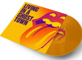 "Rolling Stones - Living in a ghost town | 10"" vinyl single -Coloured Vinyl-"