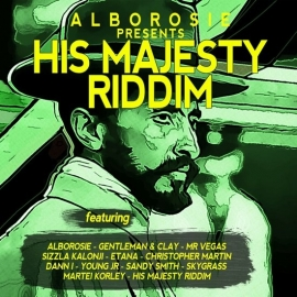 Alborosie - His majesty riddim | LP