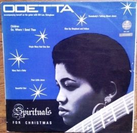 Odetta - Spirituals for christmas   | 2e hands vinyl LP