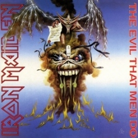 "Iron Maiden - The evil that men do  | 7"" single"