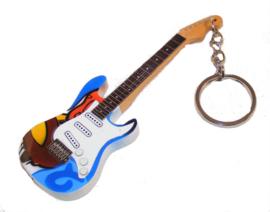 Sleutelhanger  Eric Clapton -Stratocaster crash-