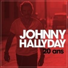 "Johnny Hallyday - 20 ans  | 10"" single Transparent Red Vinyl"