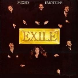 Exile - Mixed Emotions - 2e hands vinyl LP-