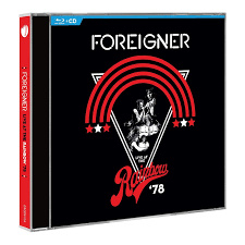Foreigner - Live at the rainbow '78 |  CD + Blu-Ray