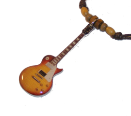 Halsketting gitaar - Les Paul custom ( Jimmy Page Led Zeppelin)
