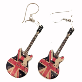 Oorbellen Epiphone UK Flag (Noel Gallagher, Oasis)