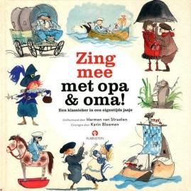 Karin Bloemen - Zing mee met opa & oma | BOEK + CD