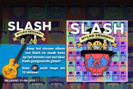 Slash feat. Myles Kennedy - Living the dream | LP -Rood vinyl-