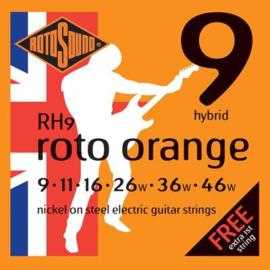 Rotosound RH9 Roto Orange electric nickel wound 9-46