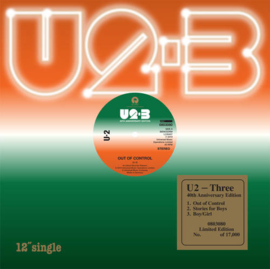 "U2 ‎– Three | 12"" vinyl single"