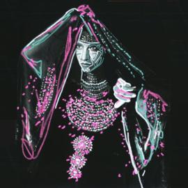 My baby - Mounaiki -By the bright of night  | LP -coloured vinyl-