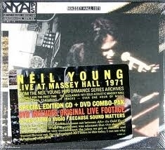 Neil Young - Live at Massey Hall   CD + DVD