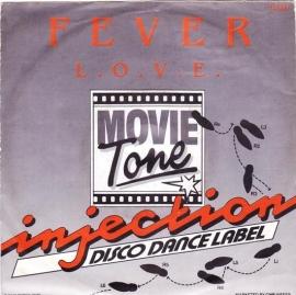 """Movietone - Fever - 2e hands 7"""" vinyl single-"""