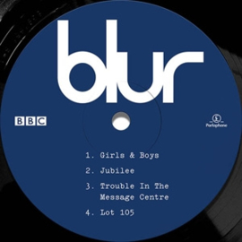 "Blur - Live At the Bbc | 10"" vinyl E.P. ltd"