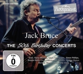 Jack Bruce - Rockpalast Birthday concerts | 2DVD + CD