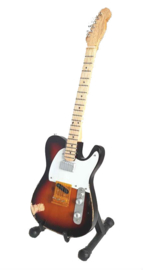 Miniatuurgitaar Andy Summers ( The Police ) - Tribute telecaster