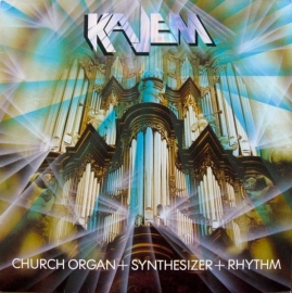 Kajem - Church Organ + Synthesizer + Rhythm  - 2e hands vinyl LP-