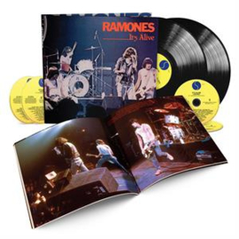 Ramones - It's Alive -Annivers- | 2lp+4cd+Book